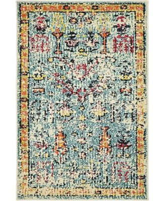 Newhedge Nhg6 Blue 2' x 3' Area Rug