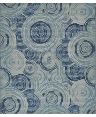 Pashio Pas1 Light Blue 10' x 12' Area Rug