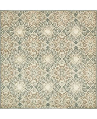 Tabert Tab3 Multi 8' x 8' Square Area Rug