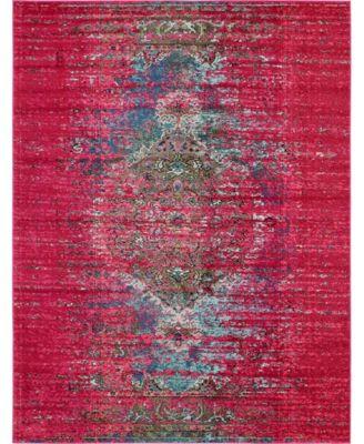 Brio Bri6 Pink 8' x 10' Area Rug