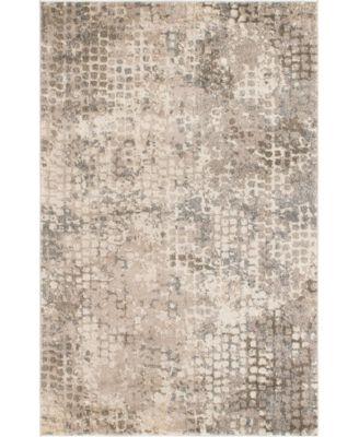 Crisanta Crs4 Gray 4' x 6' Area Rug