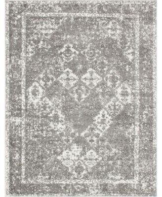 Mishti Mis2 Gray 8' x 10' Area Rug