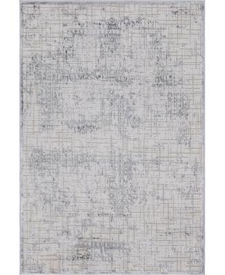 Aitana Ait2 Gray 4' x 6' Area Rug