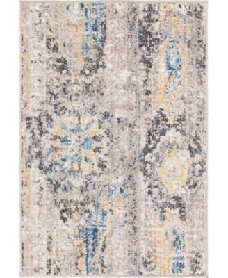 "Nira Nir1 Light Brown 2' 2"" x 3' Area Rug"