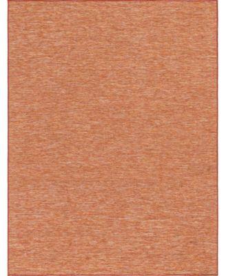 """Pashio Pas8 Terracotta 9' 4"""" x 12' Area Rug"""