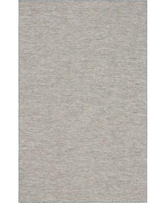 """Pashio Pas8 Light Gray 5' 3"""" x 8' Area Rug"""
