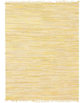 Jari Striped Jar1 Yellow 8' x 10' Area Rug