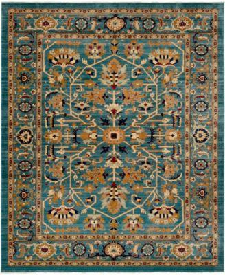 Thule Thu1 Turquoise 8' x 10' Area Rug