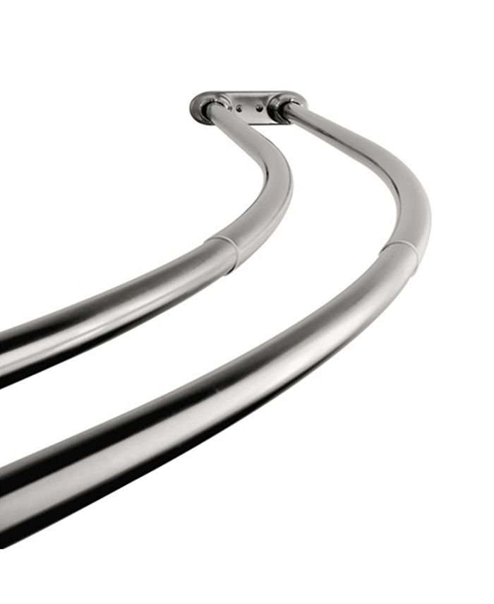 Arista Bath Products - Double Shower Rod CH