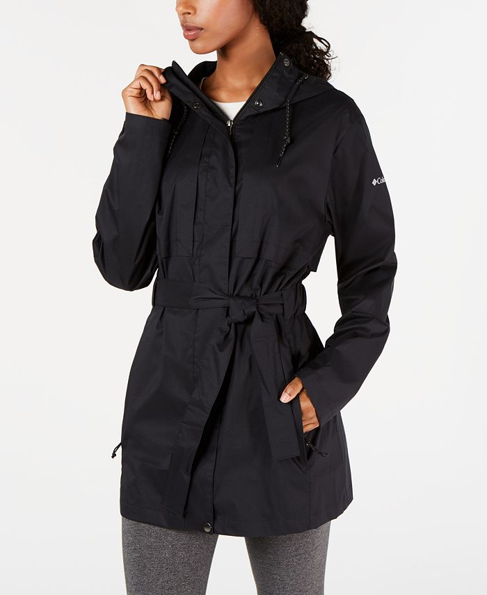 Columbia - Pardon My Trench Water-Resistant Rain Jacket