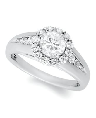 Halo Wedding Ring Sets 98 Trend Diamond Ring k White
