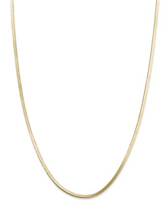 "20"" Snake Chain Necklace in 18K Gold over Sterling Silver, Created for Macy's"