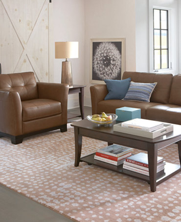 Martino Leather Sofa Living Room Furniture Collection