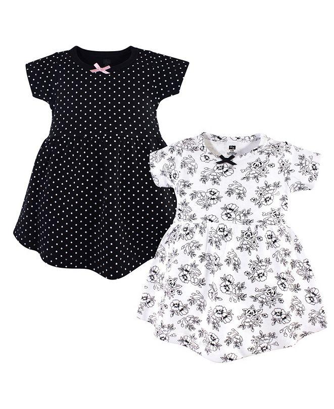 Hudson Baby Cotton Dress, 2 Pack, 2T-5T