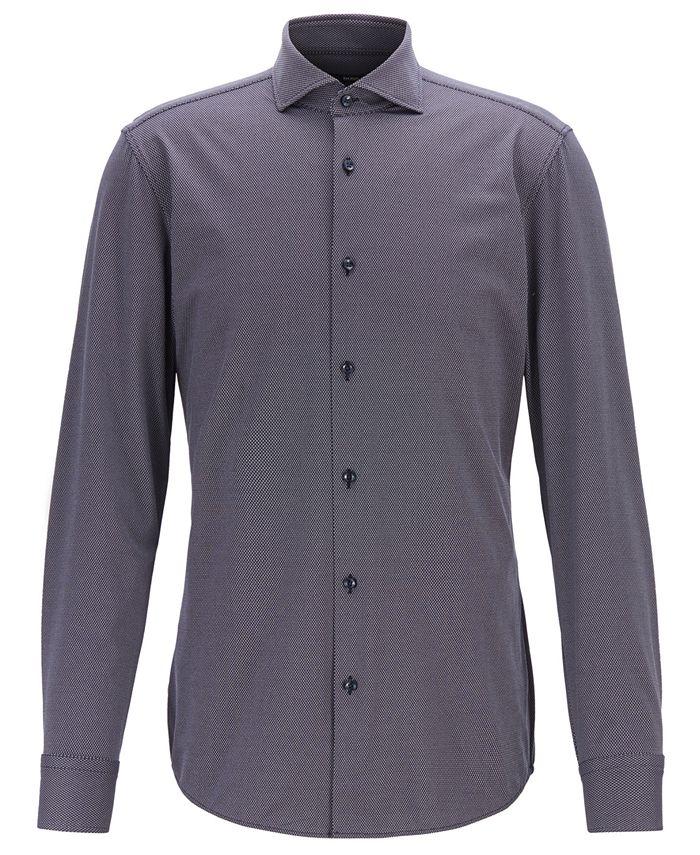 Hugo Boss - Men's Jason Travel Line Slim-Fit Shirt