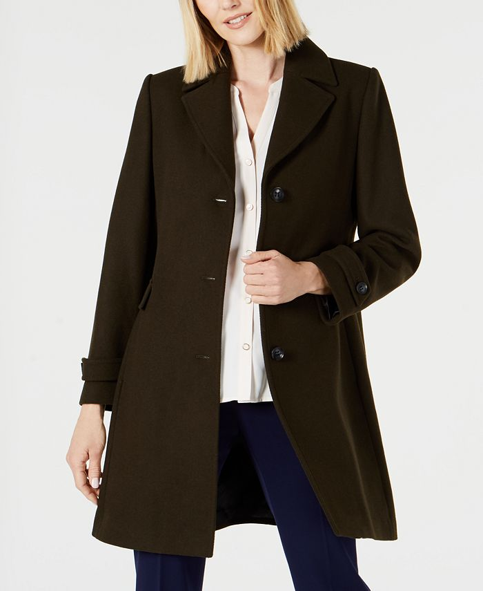 Vince Camuto - Single-Breasted Coat, Created for Macys