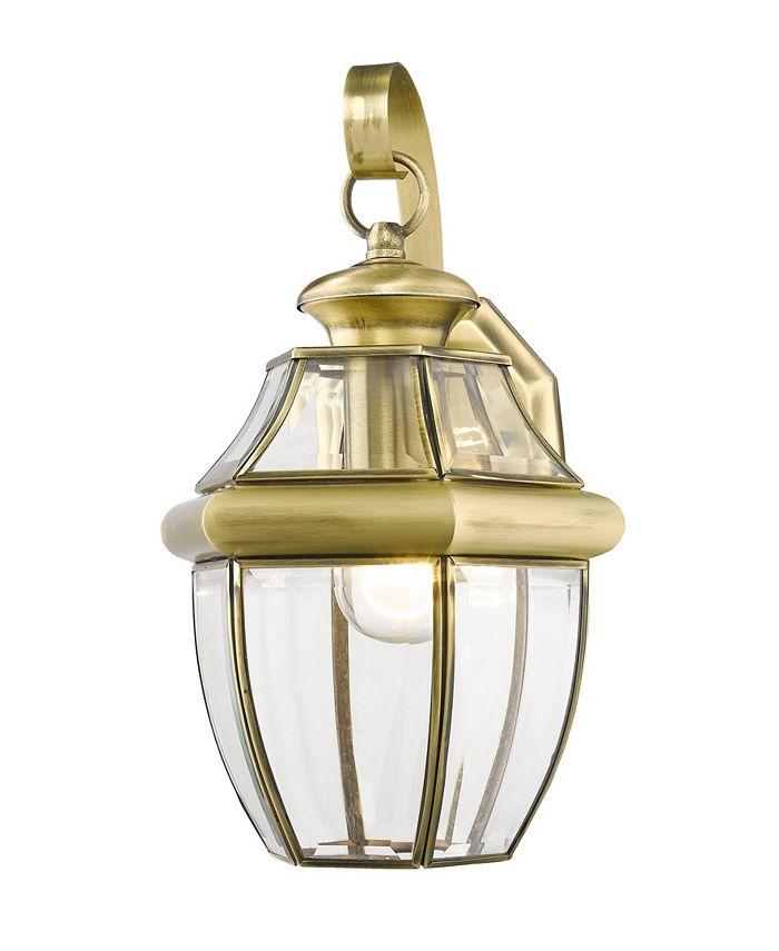 Livex - Monterey 1-Light Outdoor Wall Lantern