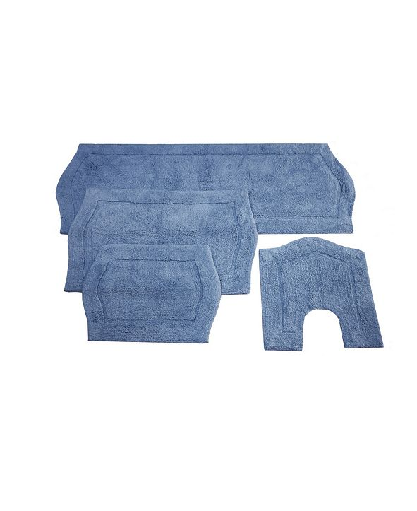 Home Weavers Waterford 4 Piece Bath Rug Set