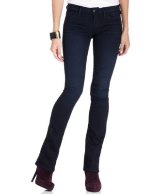 GUESS Kate Bootcut Jeans, Dark Wash - Jeans - Women - Macy's