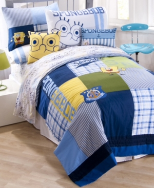Jay Franco Bedding, Spongebob Squarepants Twin Sheet Set Bedding
