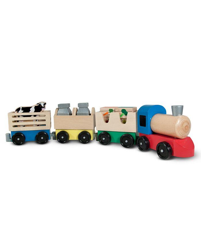 Melissa and Doug - Kids Toys, Farm Train
