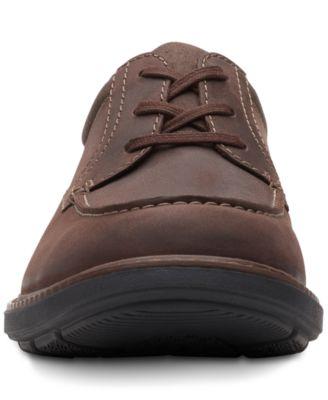 Clarks Men's Rendell Walk Dark Brown