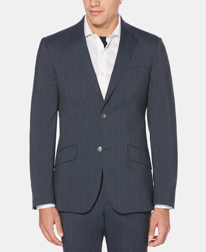 Perry Ellis - Men's Slim-Fit Striped Suit Jacket