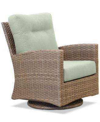 Grand Stafford Outdoor Swivel Chair with Sunbrella® Cushions