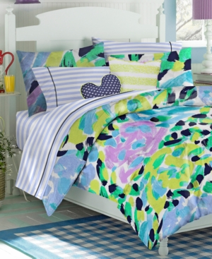 Teen Vogue Bedding, Paloma Floral Full/Queen Comforter Set Bedding