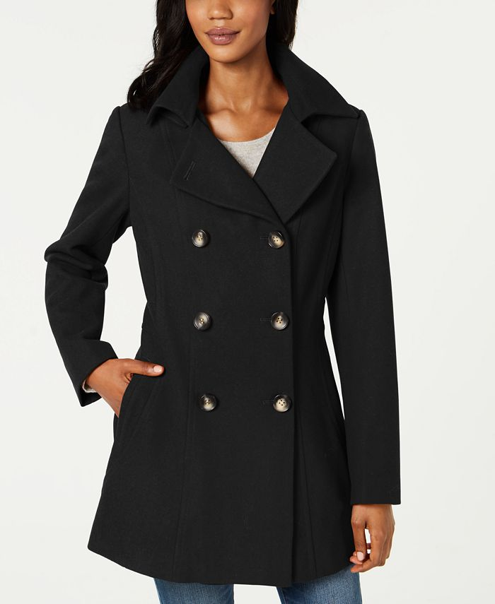 Nautica - Double-Breasted Hooded Peacoat
