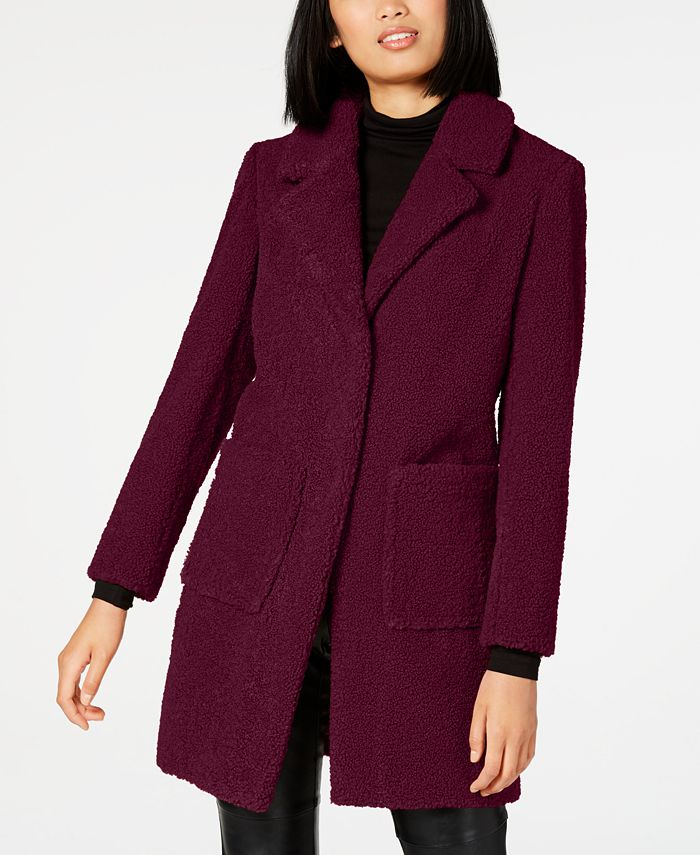 French Connection - Faux-Fur Teddy Coat