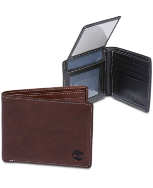 Timberland Wallets Hookset Harness Leather Passcase Wallet