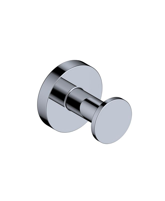WS Bath Collections Norm Single Bathroom Hook in Polished Chrome