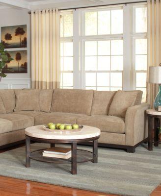 Marvelous Kenton Fabric 2 Piece Sectional Sofa
