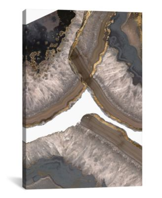 Neutral Agates Ii by Jennifer Goldberger Gallery-Wrapped Canvas Print - 26