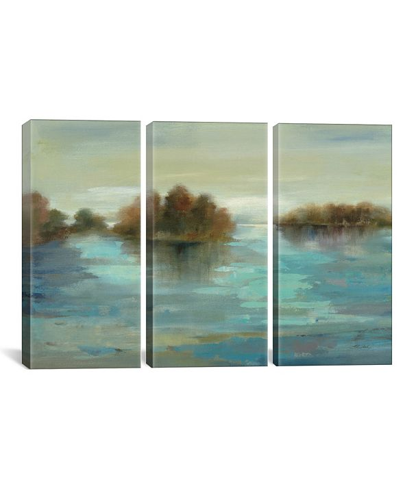 """iCanvas Serenity on The River by Silvia Vassileva Gallery-Wrapped Canvas Print - 40"""" x 60"""" x 1.5"""""""