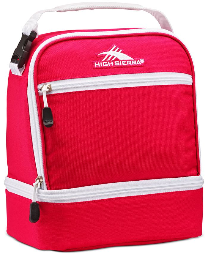 High Sierra - Men's Stacked Compartment Lunch Bag
