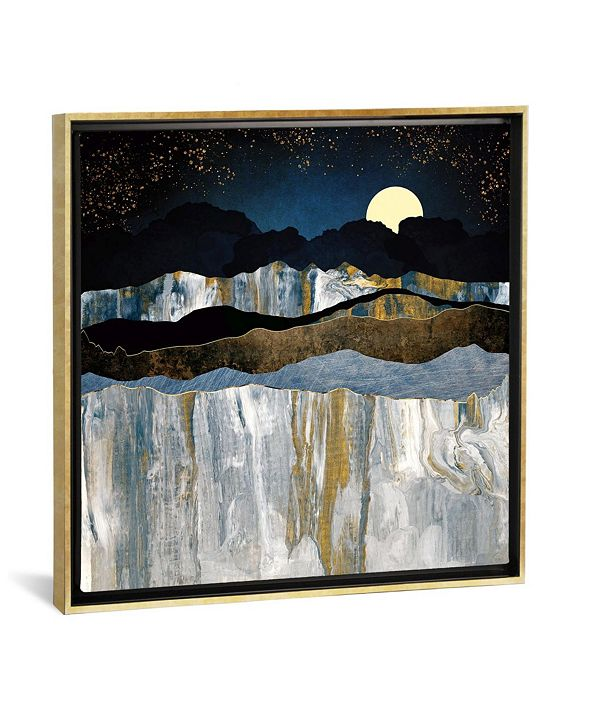 """iCanvas Painted Mountains by Spacefrog Designs Gallery-Wrapped Canvas Print - 18"""" x 18"""" x 0.75"""""""