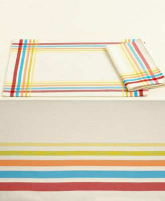 "Fiesta Table Linens, Classic Plaid 52"" x 70"" Tablecloth"