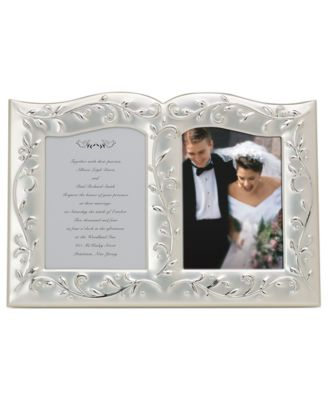 "Lenox ""Opal Innocence"" Double Invitation Frame"