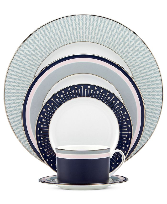 kate spade new york - Mercer Drive 5-Piece Place Setting