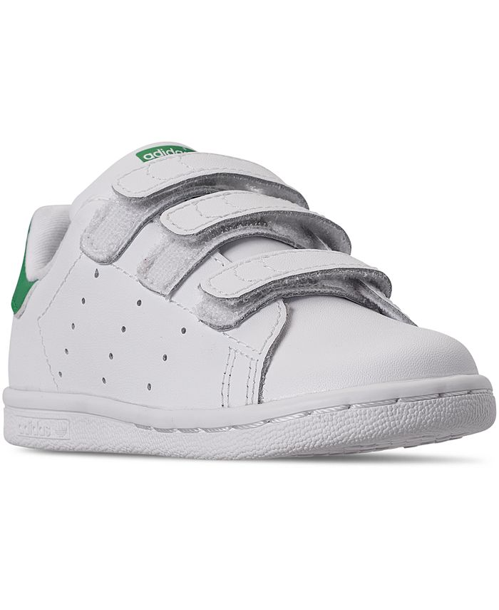 adidas Toddler Stan Smith Stay-Put Closure Casual Sneakers from ...