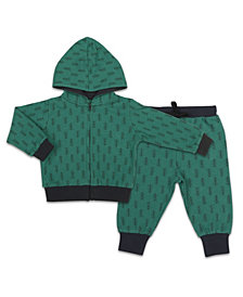 The Peanutshell Baby Boy Hoodie And Jogger Set