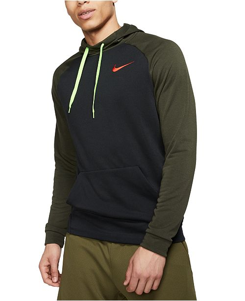 Nike Men's Sport Clash Dri-FIT Training Hoodie & Reviews ...