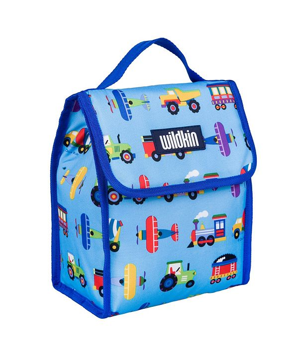 Wildkin Trains, Planes and Trucks Lunch Bag