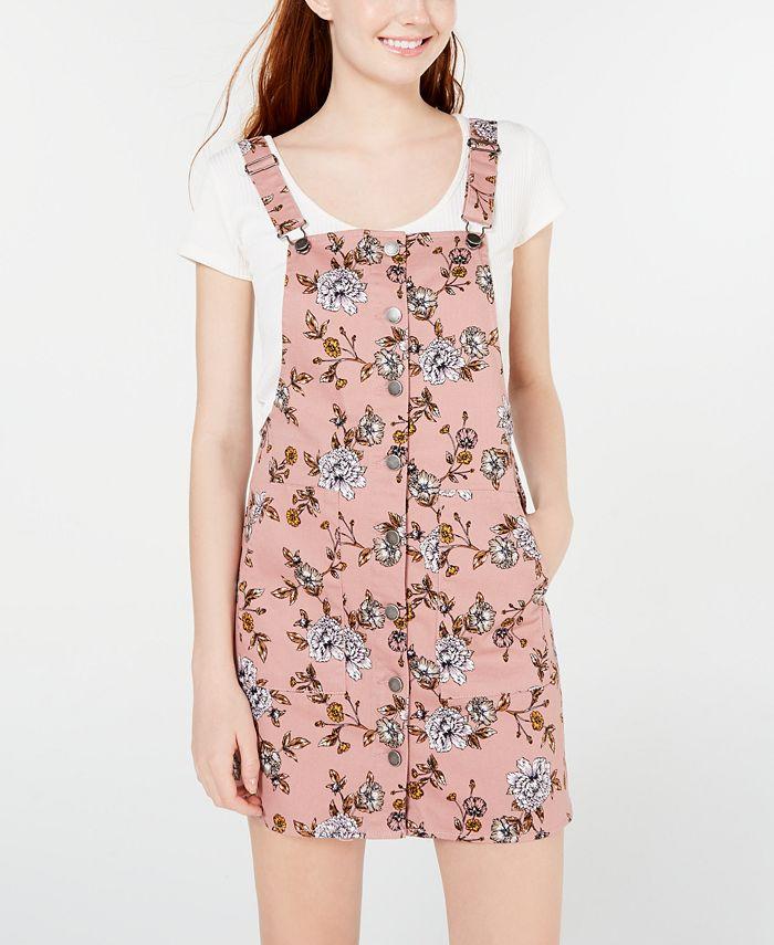 Tinseltown - Juniors' Blush Floral Skirtall