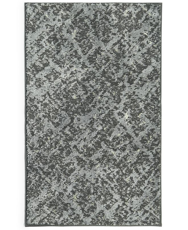 "Hotel Collection Faded Stone 22"" x 36"" Bath Rug, Created for Macy's"
