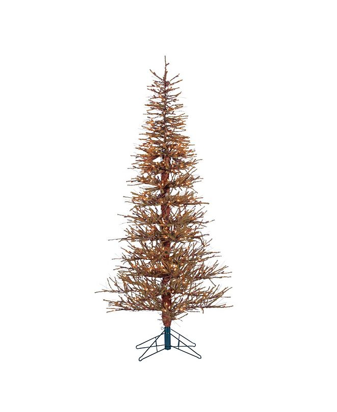 Sterling 6Ft. Pre-Lit Hard Needle Brown Twig Tree with 400 Clear Light