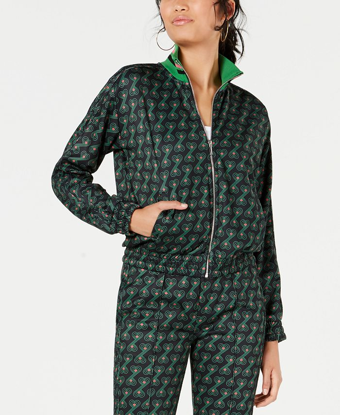 Juicy Couture - Printed Track Jacket