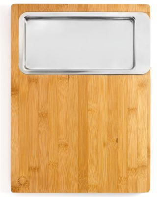 Martha Stewart Collection Cutting Board with Prep Container